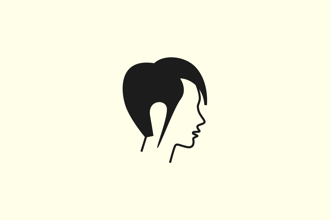 12 Abstract Women Icons