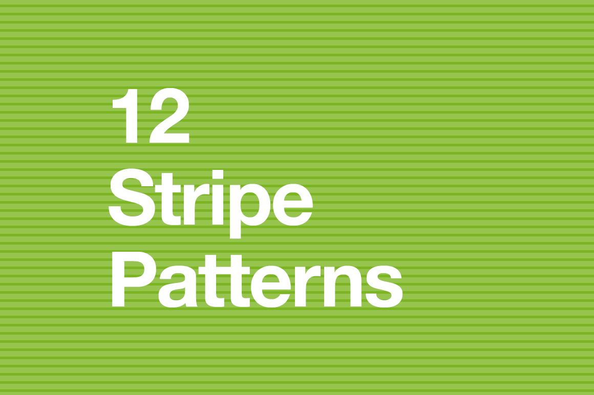 12 Seamless Stripe Patterns for Photoshop