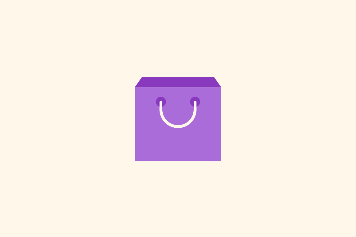12 Shopping Bag Icons