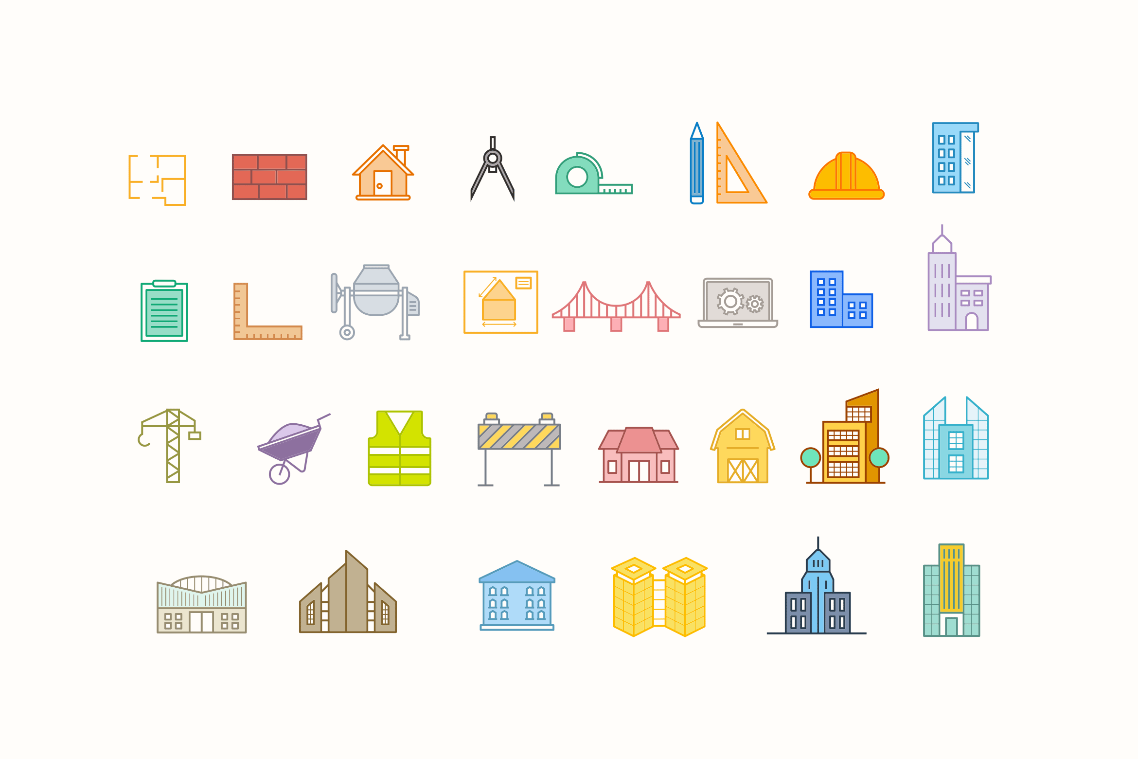 15 Architecture Icons