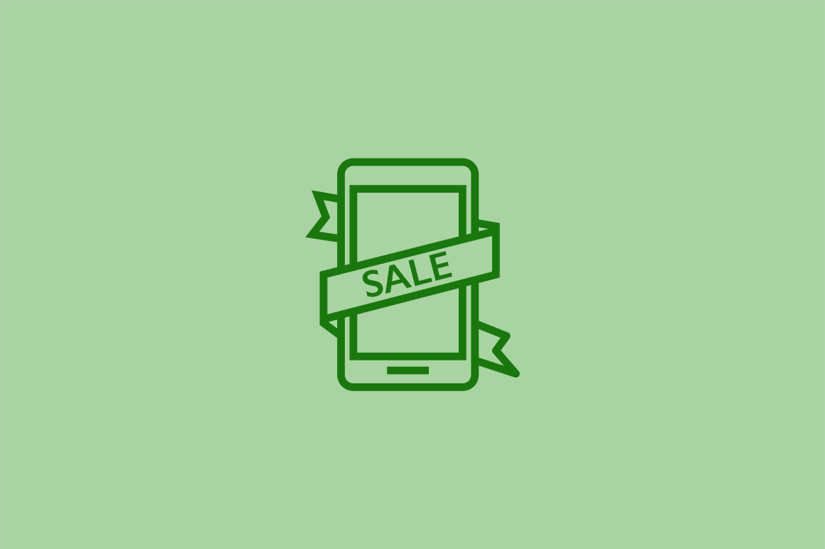 15 Black Friday Cyber Monday Icons