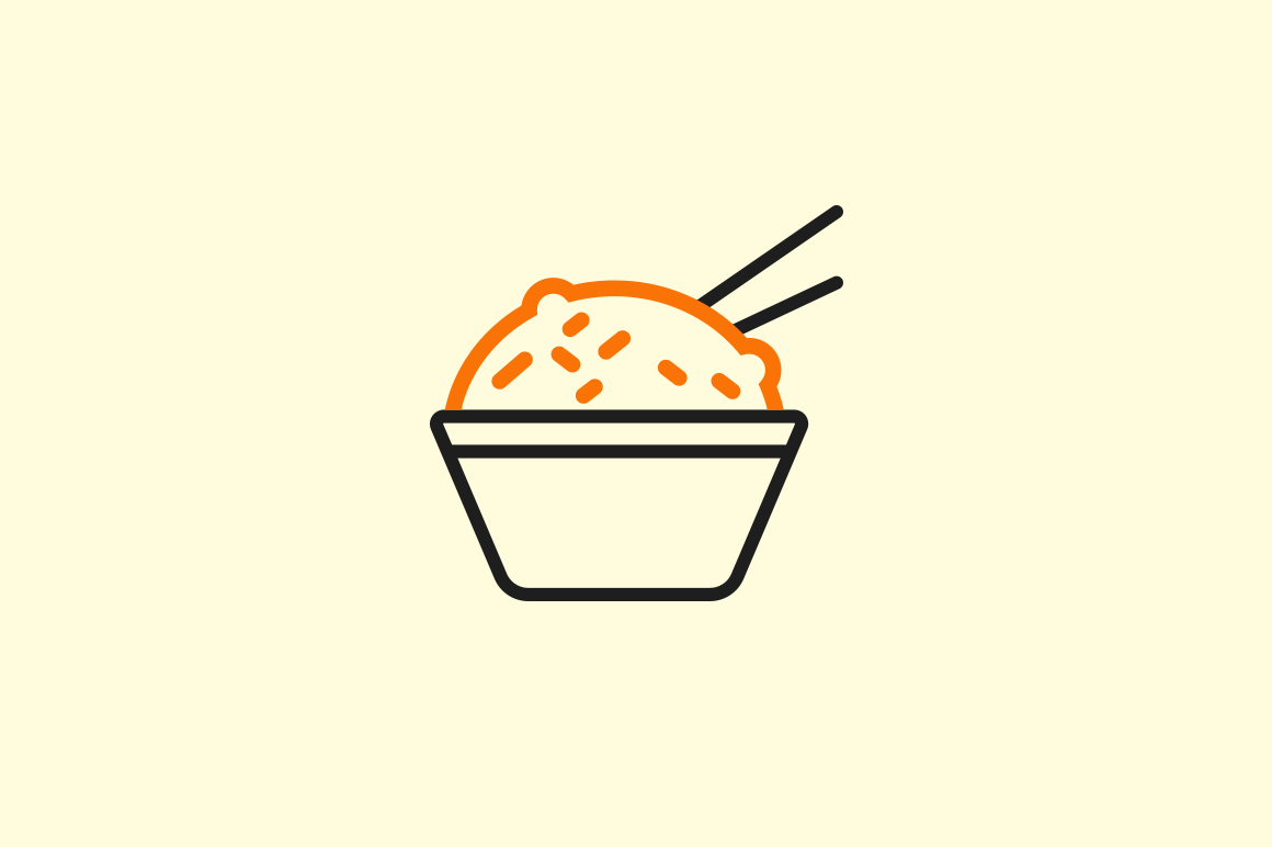 15 Chinese Food Icons