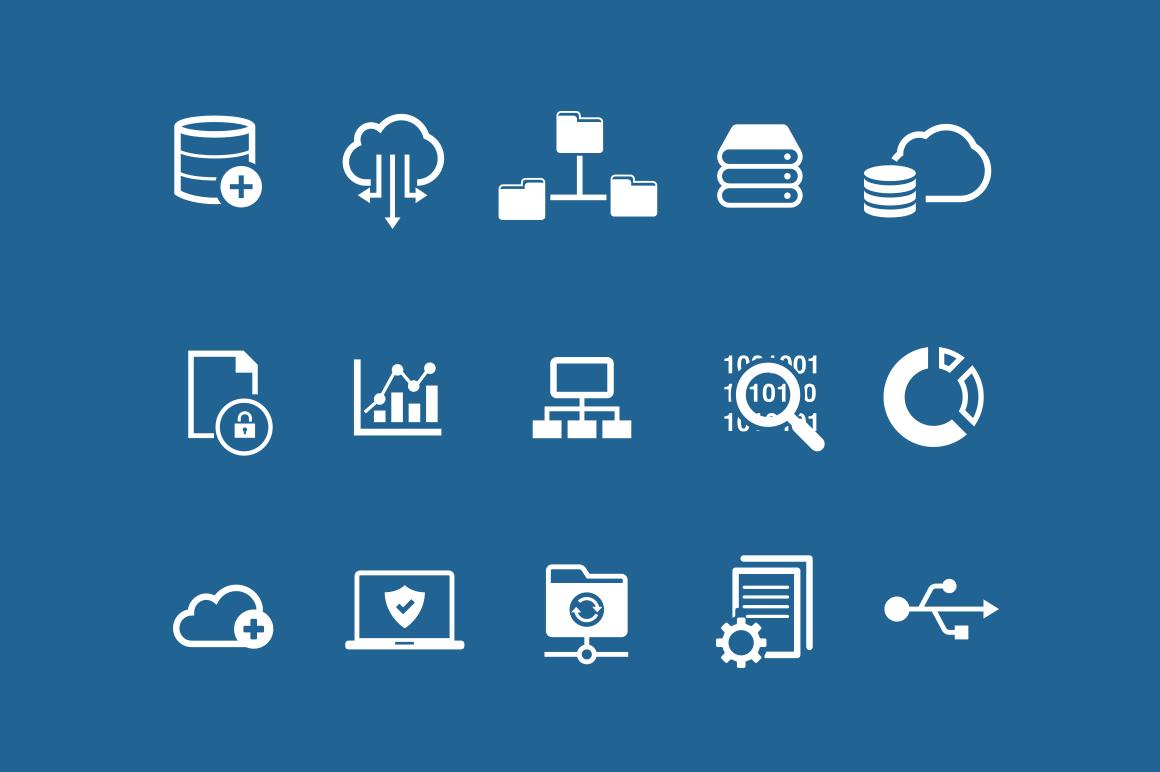 15 Data Icons Creative Vip