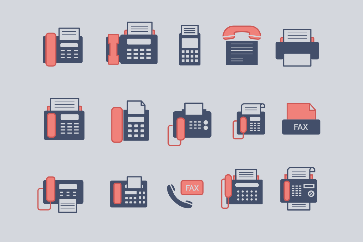 15 Fax Icons