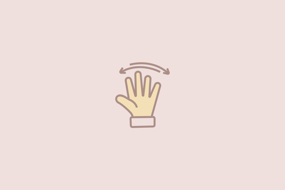 15 Hand Wave Icons
