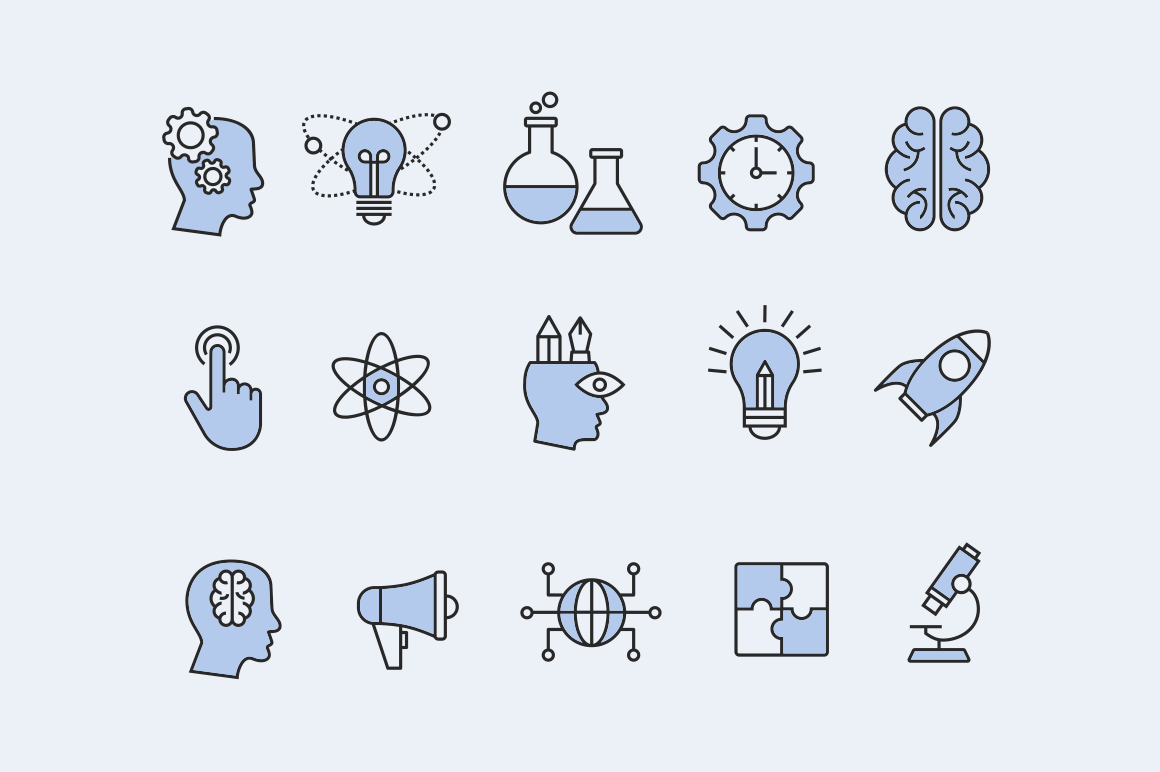15 Innovation Icons