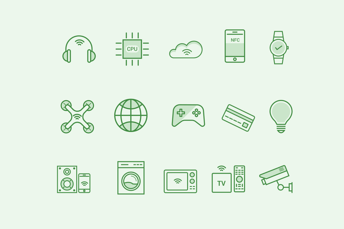 15 Internet Gadget Icons
