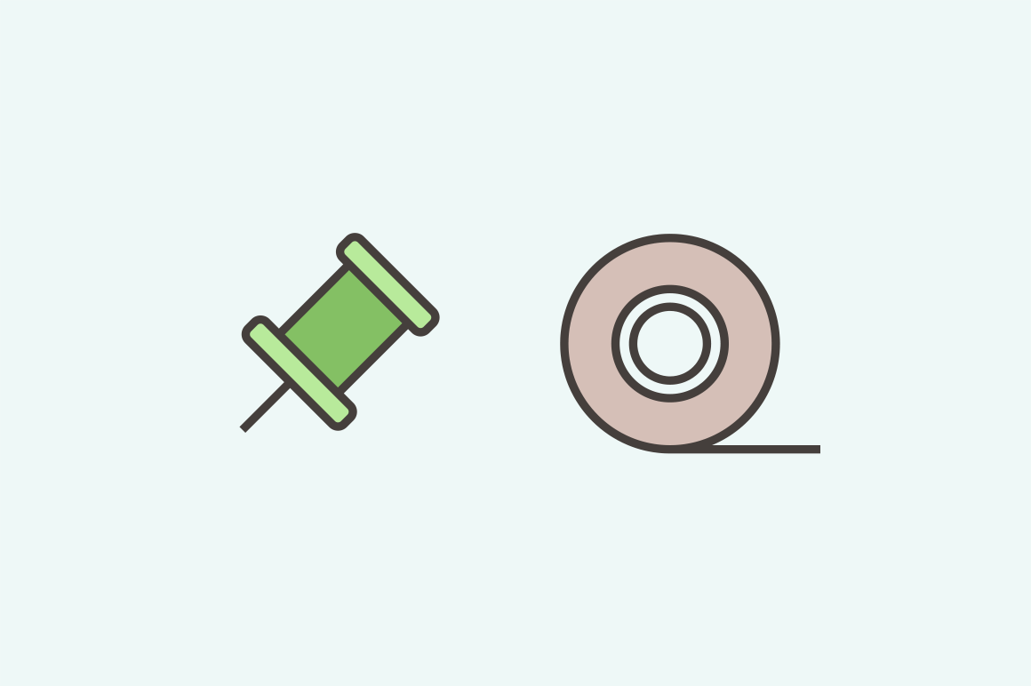 15 Office Item Icons