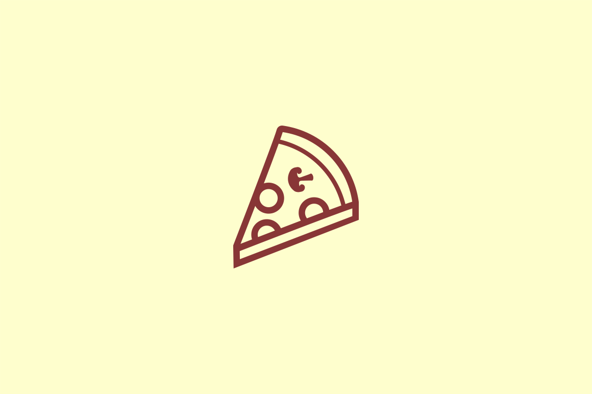 15 Pizza Icons