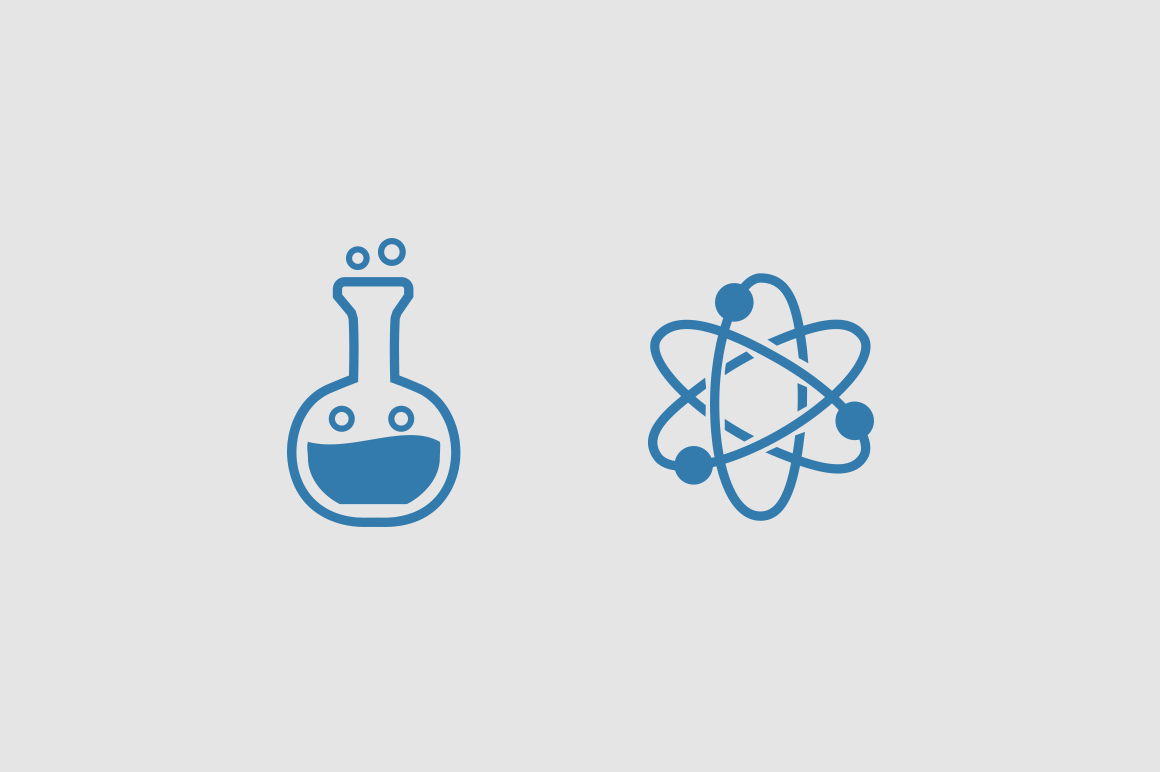 15 Science Doodle Icons
