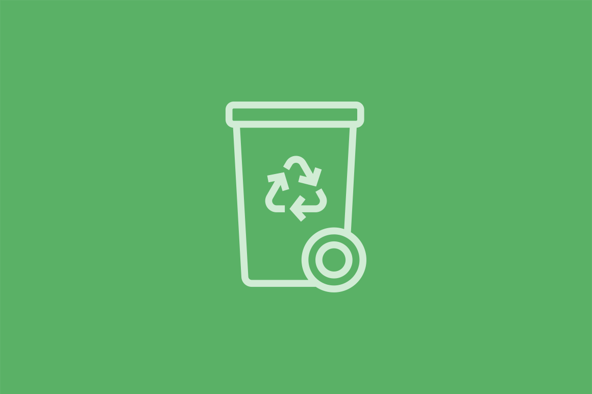 16 Recycling Icons