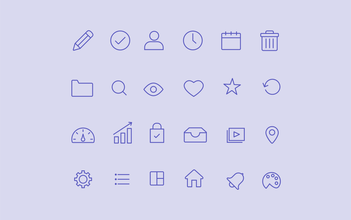 20 Admin Dashboard Icons