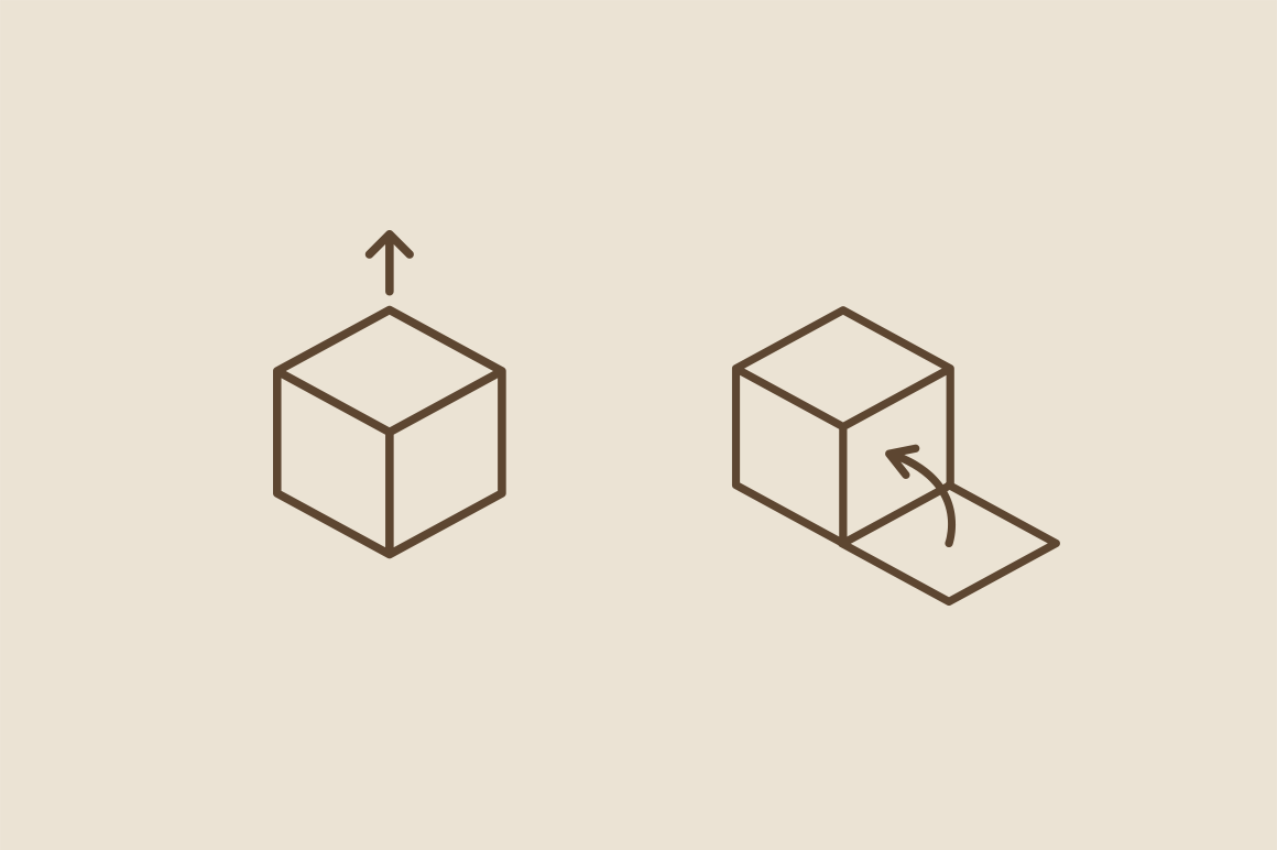 20 Box Cube Arrow Icons