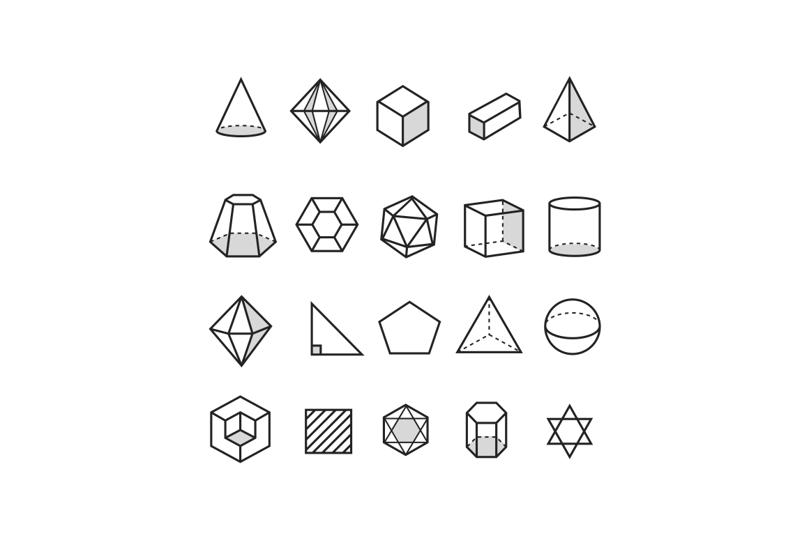 20 Geometric Icons besides Volume Engine Cylinder as well Figuras geom c3 a9tricas further  on creative cylinder outline shape icon