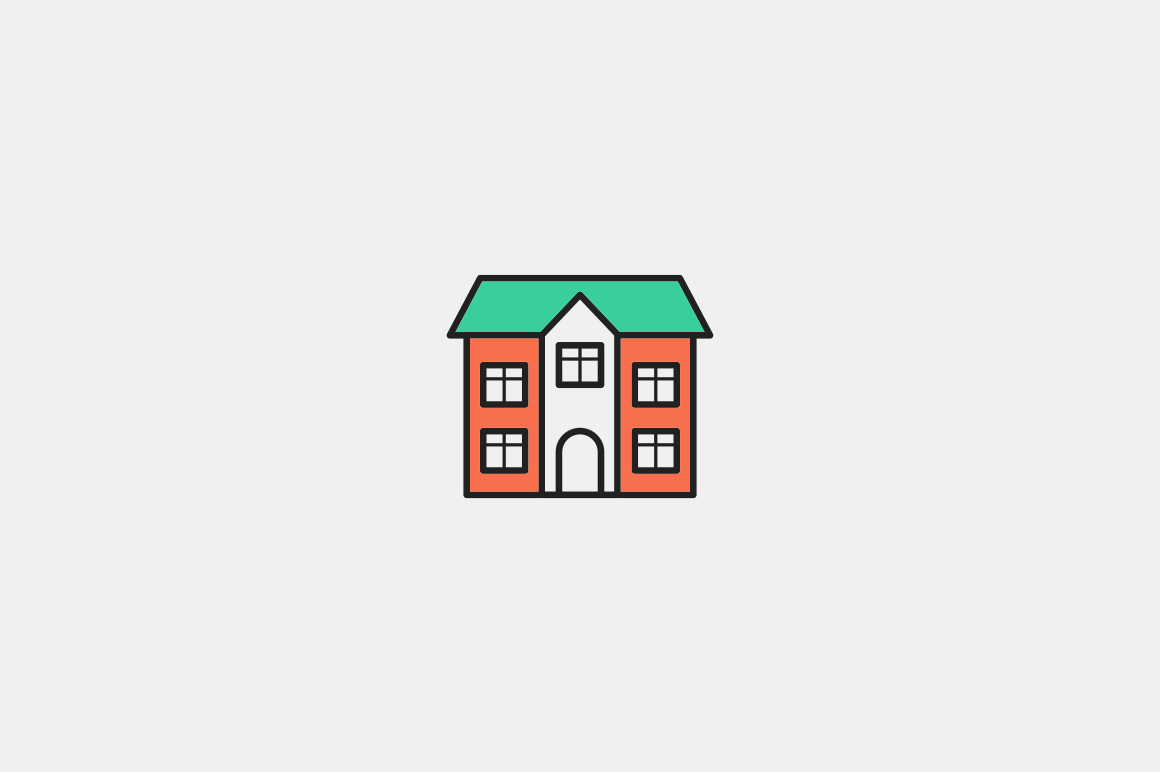 20 House & Building Icons
