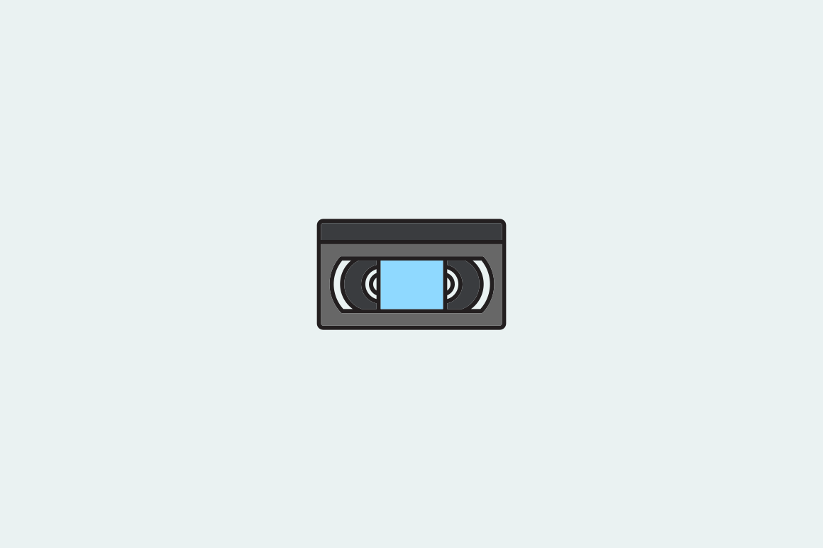 20 Retro Tech Icons