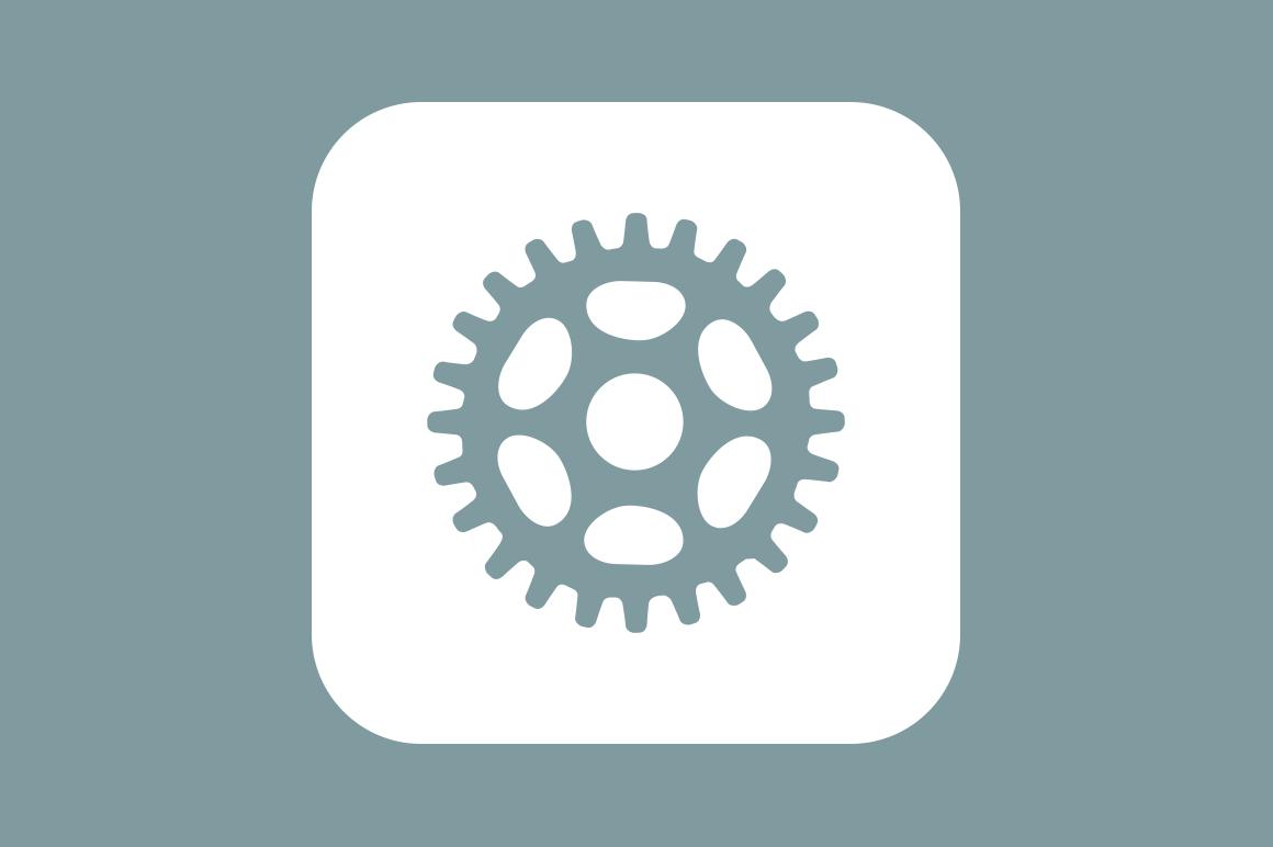 6 Settings and Cog Icons - Creative VIP