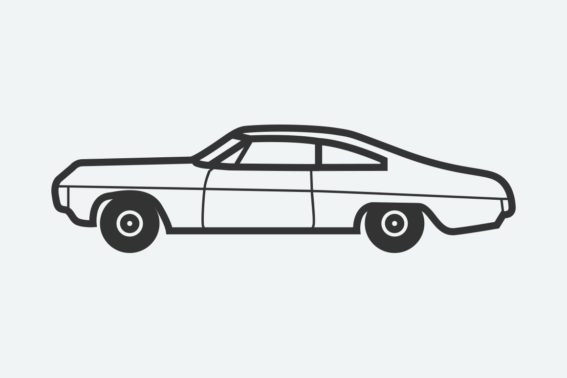 9 Classic And Retro Car Icons Creative Vip