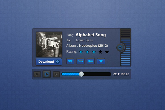 Blueprint music player psd creative vip blueprint music player psd nextprev 1 malvernweather Image collections