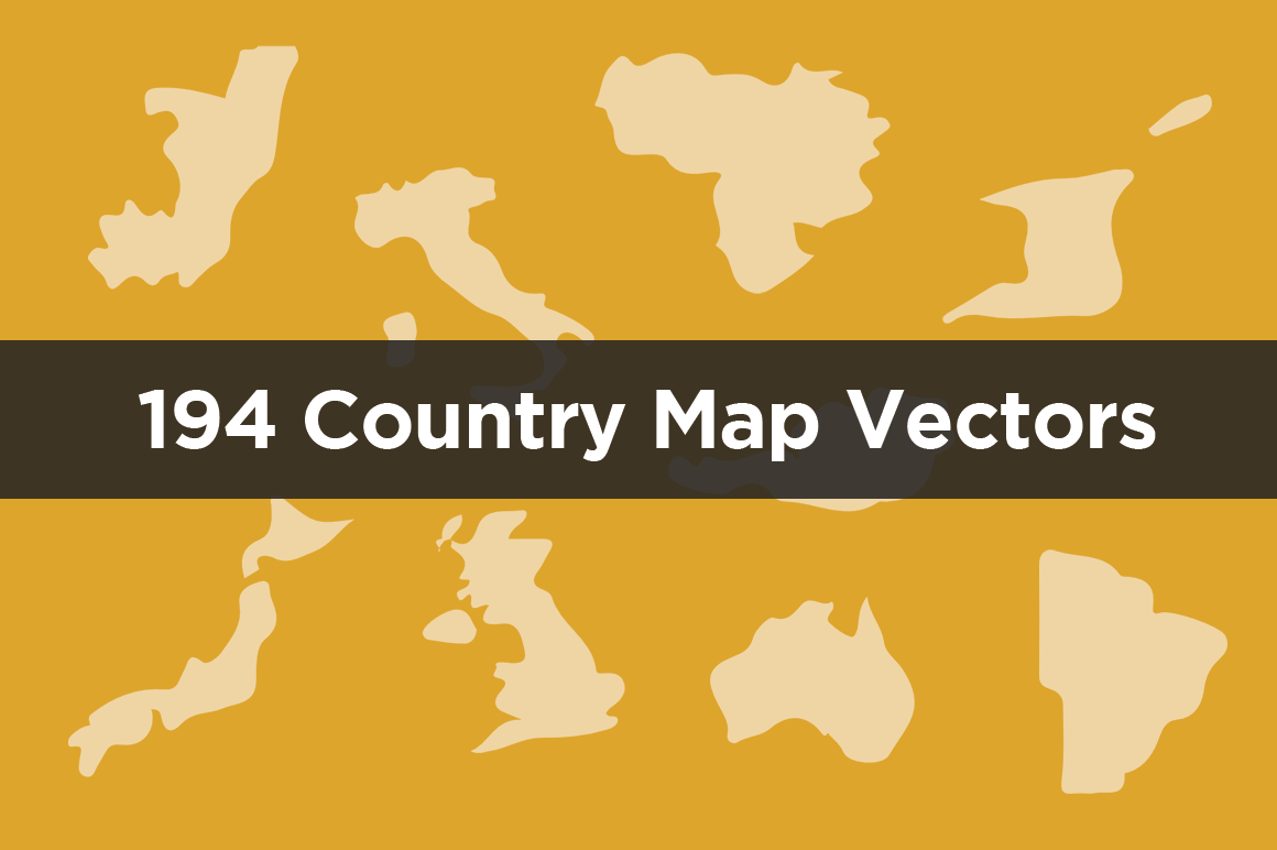 Country Vector Icons