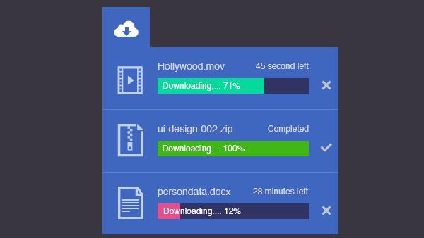 Css Download Widget