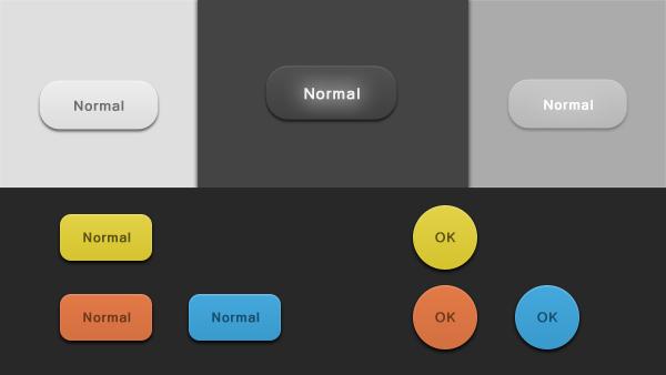 Highlight Buttons PSD & CSS - Creative VIP