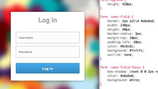 HTML Login & Register Forms - Creative VIP