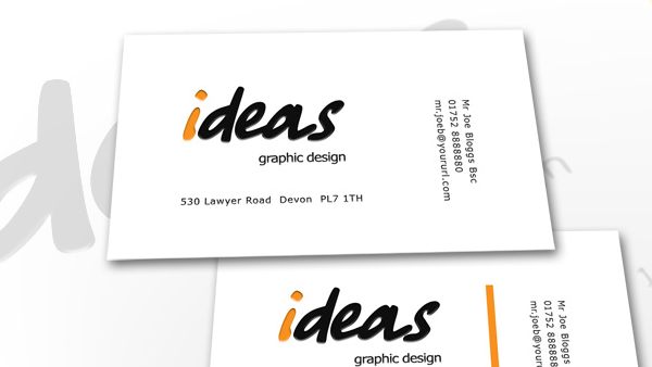ideas business card creative vip
