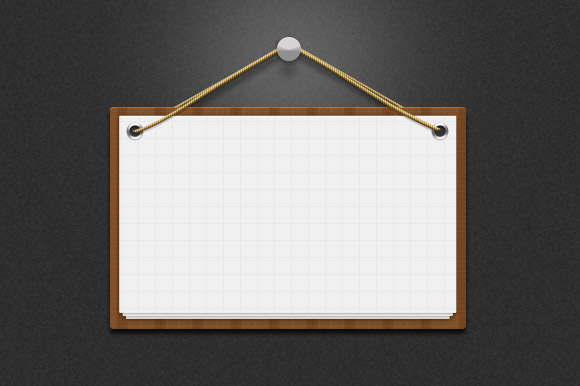 Message Board Notice Psd Creative Vip