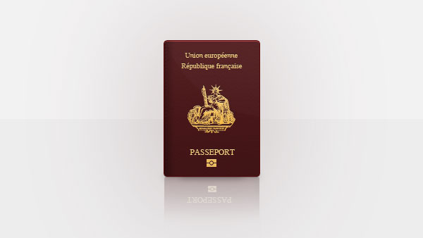 French Passport PSD