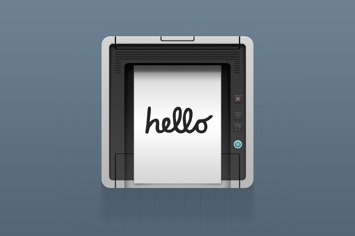 iPrint Icon PSD