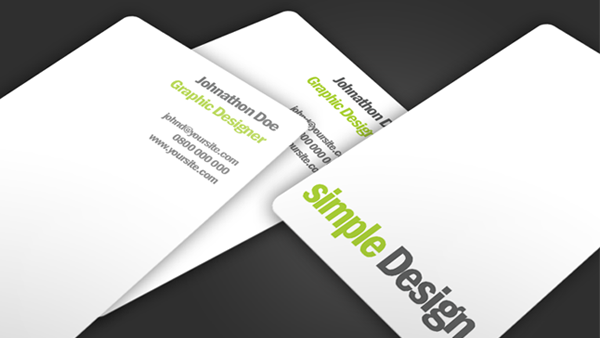 Simple design business card creative vip simple design business card colourmoves