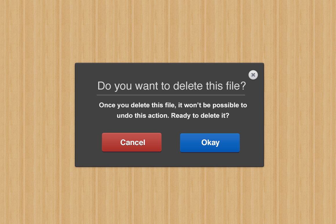 Simple Modal Window