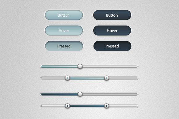 Soft Buttons and Sliders - Creative VIP