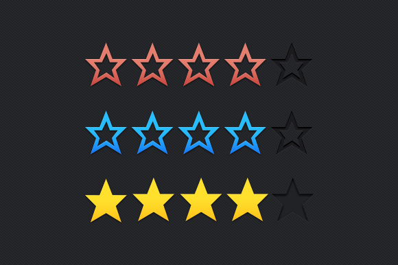 Star Rating Vector